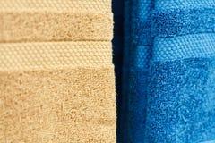 Цветастые полотенца Стоковое Фото