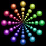 цветастые предметы Стоковые Изображения RF