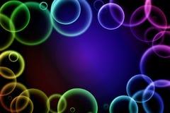 Цветастые пузыри Стоковая Фотография RF
