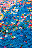 Пластичные крышки Стоковые Фотографии RF