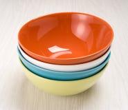 цветастые плиты Стоковое Фото