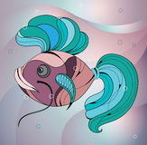 цветастые рыбы Стоковые Фото