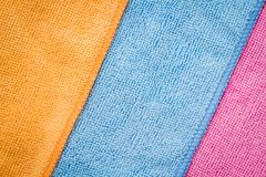 цветастые салфетки Стоковое Изображение RF