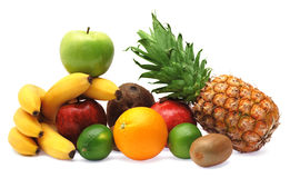 цветастые свежие фрукты стоковые изображения