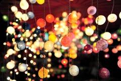 Цветастые света Стоковая Фотография RF