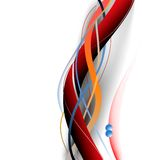 цветастые свирли Стоковое Фото
