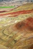 цветастые слои холмов Стоковое Изображение