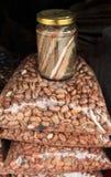 Цветастые соль и фасоли Стоковое Фото