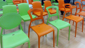 Цветастые стулы Стоковые Изображения