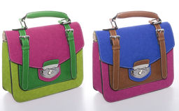 цветастые сумки Стоковая Фотография RF