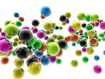 цветастые сферы Стоковое фото RF