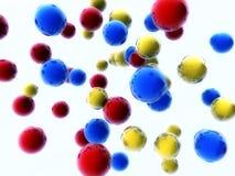 цветастые сферы Стоковое Изображение RF