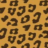 Цветастые текстуры животной кожи леопарда. Стоковое Изображение RF