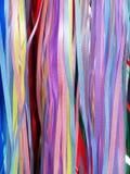 цветастые тесемки стоковая фотография rf