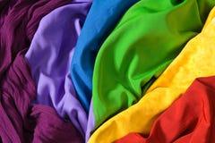 цветастые ткани Стоковые Изображения