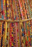 цветастые ткани Стоковая Фотография RF