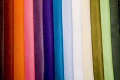 цветастые тканья Стоковое фото RF