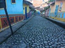 цветастые улицы стоковые фотографии rf