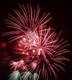 Цветастые феиэрверки для того чтобы отпраздновать празднество стоковые фотографии rf