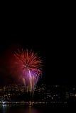 цветастые феиэрверки Стоковое Изображение