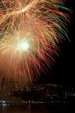 цветастые феиэрверки Стоковое Фото