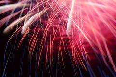 Цветастые феиэрверки Стоковая Фотография RF