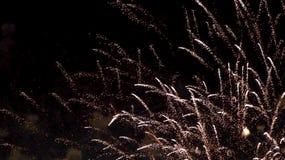 Цветастые феиэрверки стоковое фото rf
