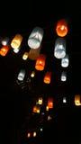 Цветастые фонарики Стоковые Фотографии RF