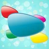 цветастые формы Стоковые Фотографии RF