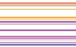 цветастые футуристические линии Стоковые Изображения RF