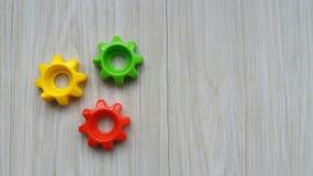 цветастые шестерни Стоковое Изображение RF