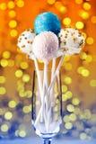 Цветастые шипучки торта Стоковое Изображение