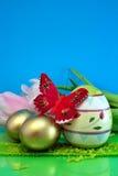 цветастые яичка Стоковые Изображения RF