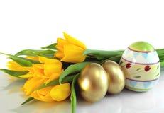 цветастые яичка Стоковые Фотографии RF
