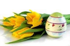 цветастые яичка Стоковое Изображение