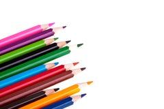 цветастые crayons Стоковое Изображение