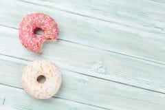 цветастые donuts стоковое фото