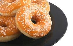 Цветастые donuts. стоковые изображения rf