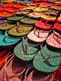 цветастые flops flip Стоковое Изображение RF