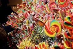 цветастые lollipops стоковое фото rf