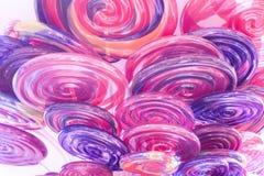 цветастые lollipops Стоковое Изображение