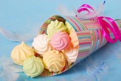 цветастые meringues Стоковое Изображение RF