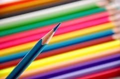 цветастые penciles стоковые изображения