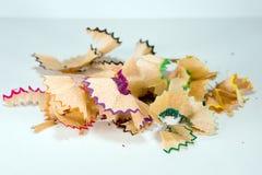 цветастые shavings Стоковые Изображения