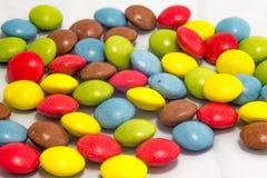 цветастые smarties Стоковое фото RF