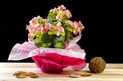 Цветастый букет различных цветков Стоковое Изображение RF