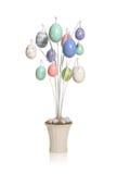 цветастый вал пасхального яйца Стоковые Изображения RF