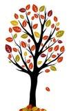 цветастый вал листьев Стоковая Фотография RF