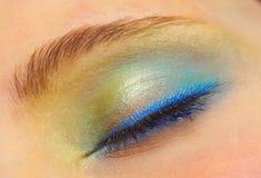 цветастый глаз Стоковые Изображения RF