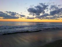 цветастый горизонт Стоковая Фотография RF
